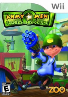 Army Men Soldiers of Misfortune Wii Video Game  Buy Army Men