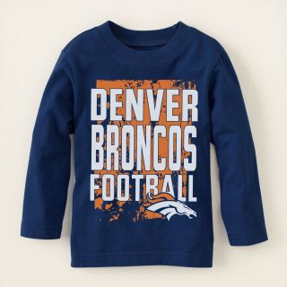 baby boy   graphic tees   licensed   Denver Broncos graphic tee