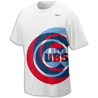 Nike MLB Cooperstown Logo T Shirt   Mens   Cubs   White / Red