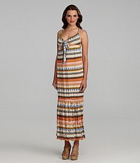 Buffalo David Bitton Rulina Printed Maxi Dress  Dillards