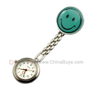 Smile Face Clip Chain Doctor Nurse Pocket Watch (1*377 include