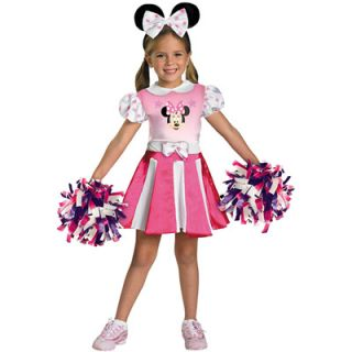Mickey Mouse Clubhouse Minnie Mouse Cheerleader Toddler Costume   2T