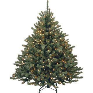 Foot Aberdeen Blue Spruce Pre Lit Christmas Tree with 450 Clear