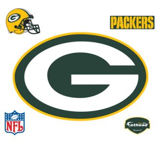 Fathead Green Bay Packers Logo Vinyl Wall Graphic  Meijer
