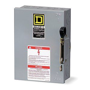 SCHNEIDER ELECTRIC Switch,Safety,30 A   1H260   Grainger Industrial