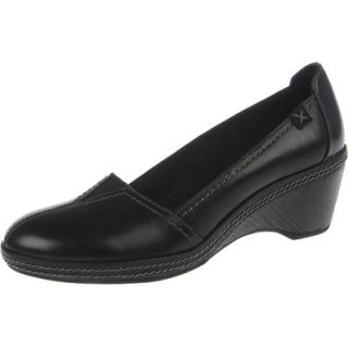 Dr. Scholls Womens Tisk Wedge Shoes   Black  Meijer