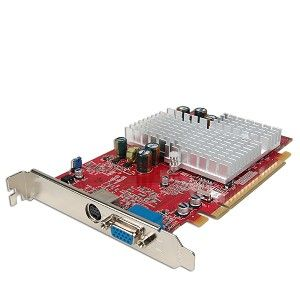 ATI Radeon X600 Pro 256MB DDR PCI Express (PCIe) VGA Video Card w/TV