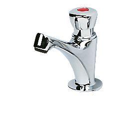 Self Closing Bathroom Basin Tap  Screwfix