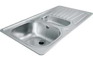 Carron Phoenix Precision Plus 150 Stainless Steel Sink from Homebase