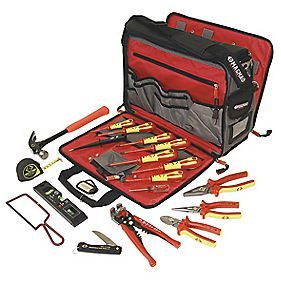 CK Electricians Premium Tool Kit & Bag  Screwfix