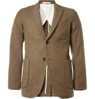 Beams Plus Unstructured Slim Fit Donegal Tweed Blazer  MR PORTER