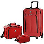 Travelers Club EuroValue 3pc CarryOn Luggage