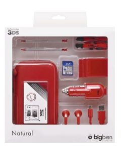 Nintendo 3DS Big Ben Natural Pack with SD Card   Red Littlewoods