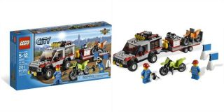 Dirt Bike Transporter LEGO® Toys  chapters.indigo.ca