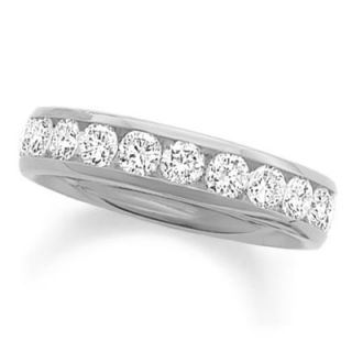CT. T.W. Diamond Channel Band in 14K White Gold   View All Rings