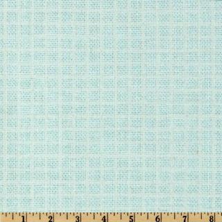 Baby Talk Checker Blue   Discount Designer Fabric   Fabric