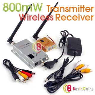 2GHz 12CH 800mW Wireless Camera Transmitter Receiver   BuyinCoins