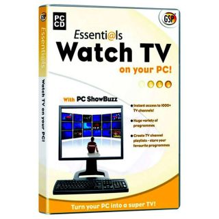 Watch TV on your PC  Creative, Print and Utilities  Maplin