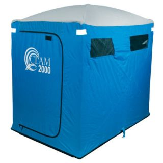 CLAM Fish Trap 2000 Cabin Style 2 Man Icefishing Shelter 8200   Gander