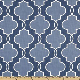 Kaufmann Luca Sapphire   Discount Designer Fabric   Fabric