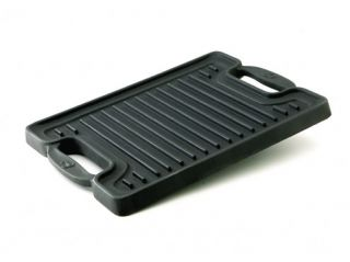 20x10.5 in. Cast Iron Reversible Grill/Griddle by Emeril from All Clad