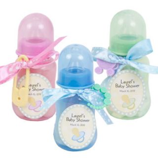 Baby Shower Ideas Baby Bottle Shower Favors