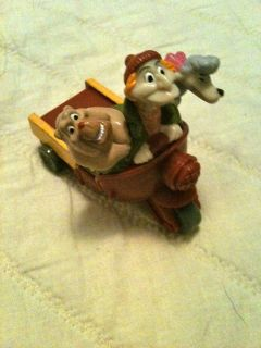 1996 Burger King Disney Oliver and Company Francis Georgette Toy