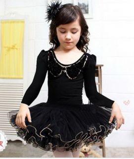 Girls Kids Party Fairy Ballet Dance Tutu Skirt Skate Dress 4 5Y