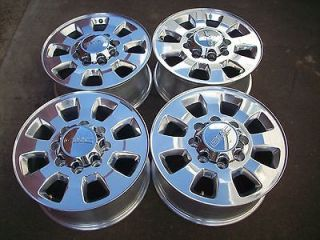 18 GMC DENALI 2500 HD SIERRA POLISHED FACTORY WHEELS RIMS 2011 2012
