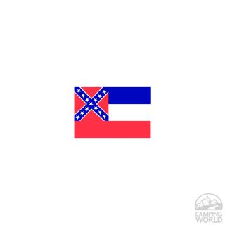 Mississippi State Flag   Two Group Flag Co. 23525   Flags