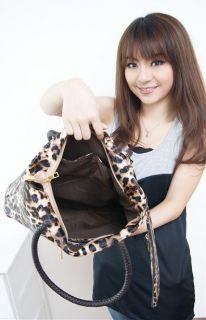 Junoesque Women Leopard Print Tote Handbags Shoulder Bag   Tmart