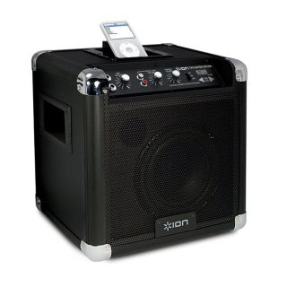 NEW Portable Compact Speaker System w/ Amplifier, Radio & Dock for