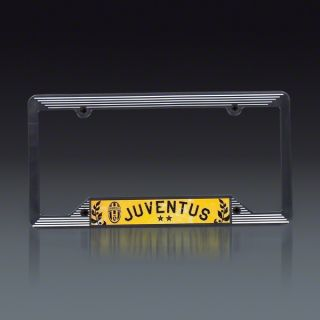 Juventus Plastic License Plate Frame  SOCCER