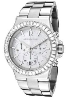 Michael Kors MK5411 Watches,Chronograph White Crystal White Mother Of