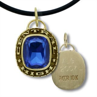10K Gold Large High School Class Pendant by ArtCarved®   View All