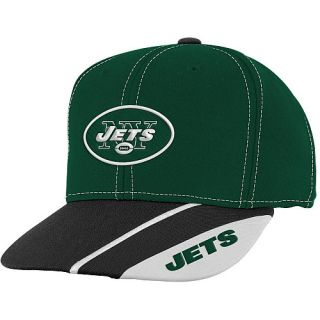 New York Jets Youth Hats Youth New York Jets Retro Shape Snapback Hat