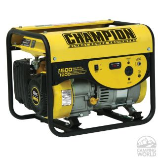 Champon 1500 Watt Portable Generator   Champion Generators 42431