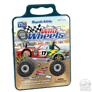 Wild Wheels Tin   Patch Products 615   Board Games   Camping World