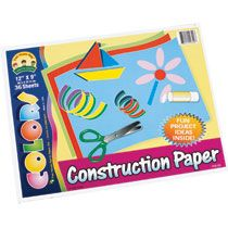Home Arts & Crafts Paper, Pads & Stickers Construction Paper, 12x9