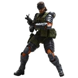 Square Enix Figura Snake Battle Dress V (Metal Gear Solid Peace Walker