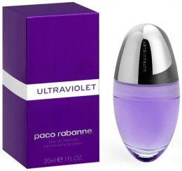 Paco Rabanne Ultraviolet Woman Eau De Parfum Spray 30ml   Free