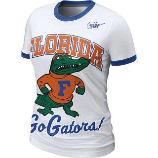 Nike Florida Gators Womens Vault Ringer T Shirt