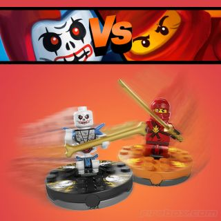 LEGO Ninjago Spinners   buy at Firebox