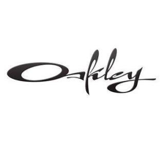 Oakley Sunglasses Womens Script Oakley 5.5 Inches Black Sticker Decal