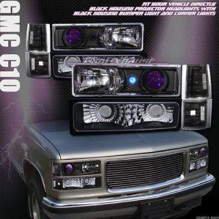 HEAD LIGHTS+CORNER K2+BUMPER SIGNAL LAMPS 94 99 GMC C10 TRUCK/SUV