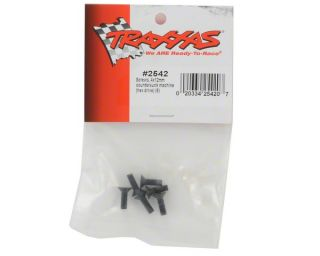 Traxxas 4X12mm Flat Head Screws (6) [TRA2542]  Hardware & Fasteners