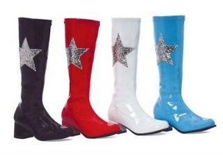 white gogo boots kids