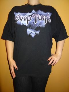 Rare Deep Purple 2011 Tour Concert T shirt Size XXL Classic Rock