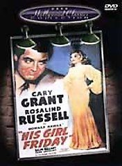 His Girl Friday DVD, 2001, Hollywood Classics Collection