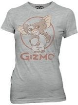 New Authentic Gremlins Gizmo Athletic Juniors Tee Shirt